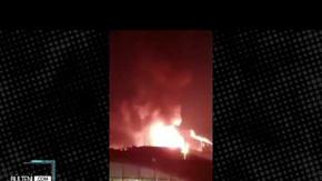 İspanya'da Büyük Panik! Kimyasal Alarmı Verildi