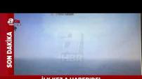 İstanbul'daki Helikopterin Düşme Anı Kameralarda