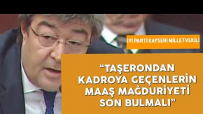 """İYİ Partili Dursun Ataş'tan """"Taşeron"""" Çıkışı: Kadroya Geçtiler Ama..."""