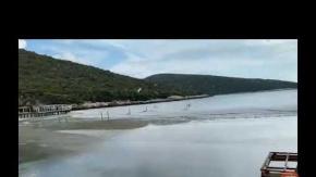 İzmir'deki Tsunami Görüntüsü Ortaya Çıktı: İşte Denizin Yükseldiği O Anlar