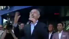 Kılıçdaroğlu'na Aydın'da Yumurtalı Saldırı Anı