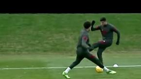 Ozan Kabak'ın Liverpool'daki İlk Antrenmanı: Arnold'a Bacak Arası