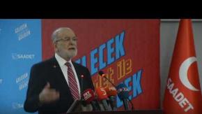 Saadet Partisi Lideri Karamollaoğlu'ndan Asgari Ücret Çıkışı: Böyle bir garabet olmaz...