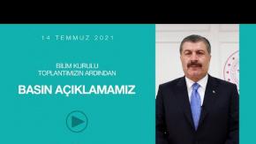Sağlık Bakanı Fahrettin Koca'dan Kurban Bayramı Öncesi Önemli Açıklamalar