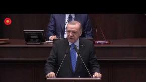 Son Dakika! Cumhurbaşkanı Erdoğan TBMM Grup Toplantısında Konuşuyor